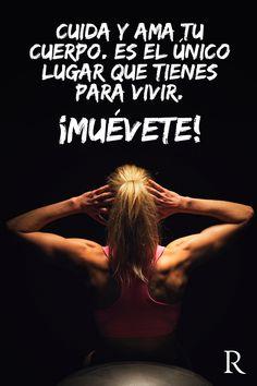 ¡Cuida y ama tu cuerpo, es el único lugar que tienes para vivir! #Fitspiration #fitness #deportes https://www.facebook.com/RipleyPeru/app_542517512494659