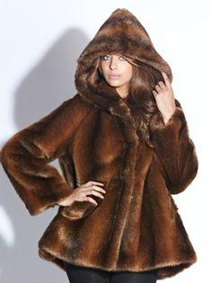 faux fur fox coat is love