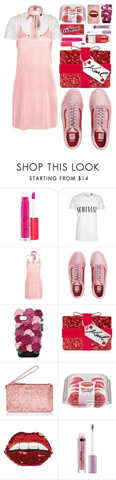 """Usher - Seduction"" by annabidel ❤ liked on Polyvore featuring MAC Cosmetics, Tee and Cake, WithChic, Kate Spade, Karl Lagerfeld and Happy Embellishments"
