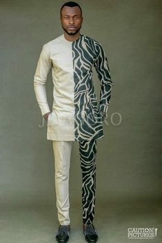 Groom And Groomsmen Wedding Suit Styles And Attire Ideas 2018 African Attire For Men, African Clothing For Men, African Shirts, African Wear, African Dress, African Style, African Fabric, African Women, African American Fashion