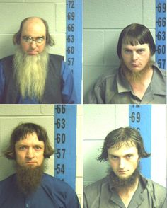 Amish mugshots are awesome - why would they be getting arrested?????!!