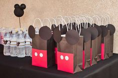 Mickey Mouse Birthday Party Ideas | Photo 8 of 20 | Catch My Party