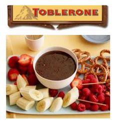 TOBLERONE Fondue