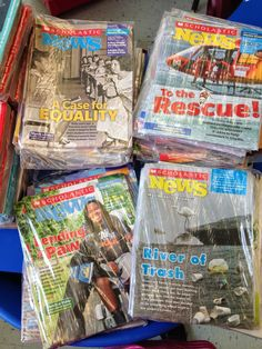 Teaching My Friends!: What To Do With Your Extra Scholastic News Magazines