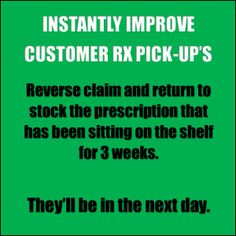 Pharmacy Humor: Instantly Improve Customer RX Pick-up's