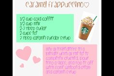 Just made this and it really does taste exactly like a caramel frap from Starbucks!  Woohoo!!
