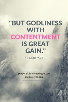 Sometimes finding true contentment is a challenge. We understand that we are to find our contentment in Christ, but how do we practically do this? This article offers wonderful and practical teaching on how you can find sweet contentment today. Why not stop by for a visit??