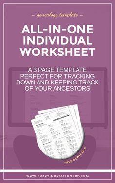 A Complete Tutorial On Genealogy Organization Genealogy