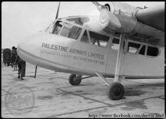 PHOTO: Palestine Airways, established in Haifa 1937 1
