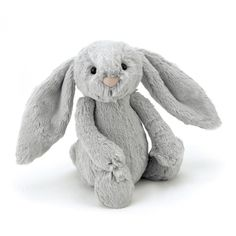 Jellycat Bunny - Bashful Silver - Medium