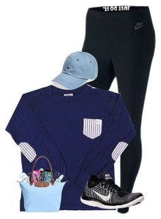 """""""Running errands"""" by lacrosse-19 ❤ liked on Polyvore featuring NIKE, Mercedes-Benz, S'well, Under Armour, Aveda, Longchamp and Vineyard Vines"""