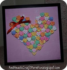 Very simple for children to make for Valentines Day..