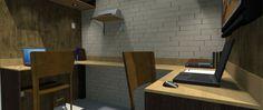 """Confira meu projeto do @Behance: """"Home Office - Design de Interiores"""" https://www.behance.net/gallery/45242791/Home-Office-Design-de-Interiores"""