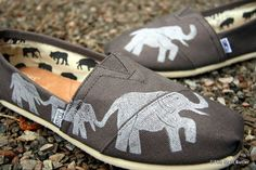 Hey, I found this really awesome Etsy listing at https://www.etsy.com/listing/151731129/elephant-custom-toms-shoes