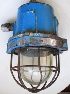 Chandeliers - Large Vintage Cast Iron Industrial Bulkhead Cage Light for sale in Cape Town Cast Iron, It Cast, Cage Light, Cape Town, Chandeliers, Industrial, Vintage, Decor, Transitional Chandeliers