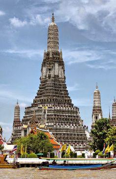 Wat Arun  is a Buddhist temple (wat) in Bangkok Yai district of Bangkok, Thailand,