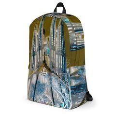 Sagrada Familia  backpack Travel Around Europe, Designer Backpacks, Love Design, Going To The Gym, Laptop Bag, Barcelona, Bags, Accessories, Sagrada Familia