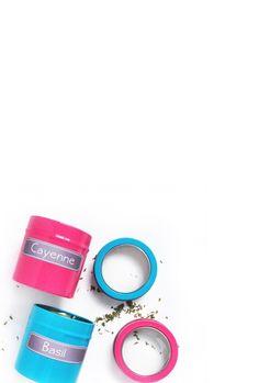 Silhouette Tutorial - DIY Chalkboard Spice Labels - Maritza Lisa | Silhouette CAMEO tutorial | Print and cut tutorial | Paper craft | Craft + DIY