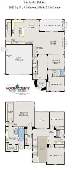 new townhomes in san marcos. floor plan 1685 1,685 square feet 2