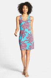 Lilly Pulitzer® 'Shore' Print Cotton Tank Dress