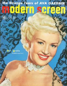 Modern Screen, July 1950- Betty Grable