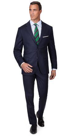 Blue Stripe Navy Suit