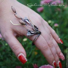 Кольцо из медной проволоки - бежевый,кольцо ручной работы,медное кольцо
