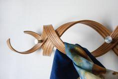 Coat Rack / Coat Hanger / Wall Hanger / Wall by KROMMdesign