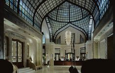 Hall 2 at Four Seasons Hotel Gresham Palace at Chain Bridge Budapest