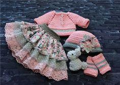 Комплект для кукол Minouche (2) / Одежда для кукол / Шопик. Продать купить куклу / Бэйбики. Куклы фото. Одежда для кукол