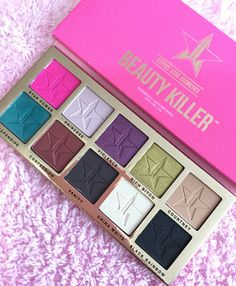 Beauty Killer Palette by Jeffree Star Cosmetics. Seriously LOVE this pallette. Ugh. Amazing!