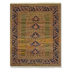 Grand Bazaar Hand Knotted Rug #williamssonoma