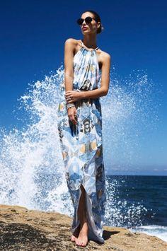 Suboo La Serena Printed Maxi Dress Summer Chic 95803545c79b