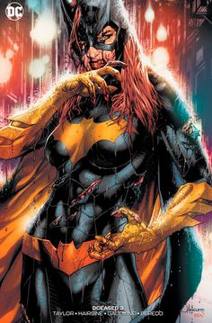 """DCEASED Jay Anacleto variant cover Homage to Stanley """"Artgerms"""" Lau's awesome Batgirl cover Available at: Comic Book Characters, Comic Book Heroes, Comic Character, Comic Books Art, Comic Art, Dc Heroes, Batgirl, Batwoman, Univers Dc"""