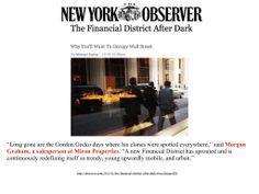 Miron Agent Morgan Graham in New York Observer!