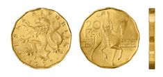 20 Kč Commemorative Coins, Old And New, Personalized Items