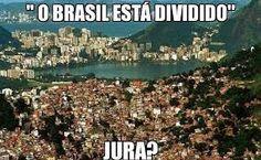 IRAM DE OLIVEIRA - opinião: Brasil dividido