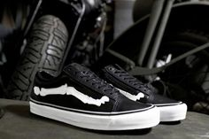 "Blends x Vans Vault Old Skool Zip LX ""Bones"" - EU Kicks: Sneaker Magazine"