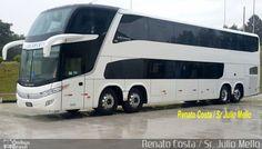 Ônibus da empresa Volvo, carro Paradiso DD 15 MTs, carroceria Marcopolo Paradiso G7 1800 DD, chassi Volvo B450R. Foto na cidade de Curitiba-PR por Renato Costa / Sr. Júlio Mello, publicada em 09/11/2016 12:00:08.