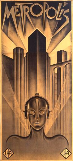 Metropolis - International Poster - Only 4 Exist