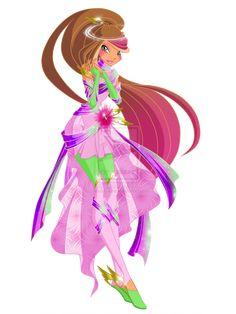 Flora Zeterise first version by MayRina-chan