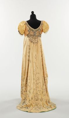 Dress, Gustave Beer | 1910 Callot Soeurs / 1910 French / 1910 Irish lace jacket