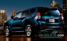 Trang bị ngoại thất là một trong những điểm mạnh của Toyota Prado 2017