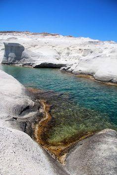 Sarakiniko beach, Milos, Greece