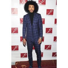 A red carpet moment with Tony Award Nominee for the smash Broadway Musical, Hamilton - Actor, Musician and rap artist, Daveed Diggs wearing Stephen F.  #worldstephenf #menswear #mensfashion #mensfashionpost #menstyle #menwithclass #menwithstyle #streetstyle #ootd #outfitoftheday #nyc #newyork #tonyaward #boradway