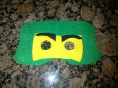 ninjago mask made from felt