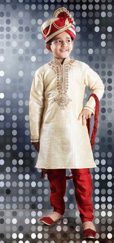 Show details for Lush Cream Color Kids Kurta Pyjama Discount Kids Clothes, Kids Clothes Sale, Eid Clothes, Kids Kurta Pajama, Boys Kurta, Boy Fashion, Fasion, Indian Fashion, Fall Fashion
