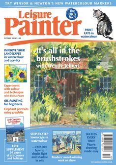 Leisure Painter and The Artist UK magazines Graphite Art, Oil Painting For Beginners, Simply Knitting, Uk Magazines, Learn To Paint, Magazine Art, Art Activities, Painting & Drawing, Art Gallery