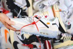 cb16ec2af7aa Virgil Abloh s Off-White x Nike Air Max 90 Ice 10X AA7293-100 Nike