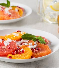 Organic Cardamom Citrus Fruit Salad from Simply Organic. More